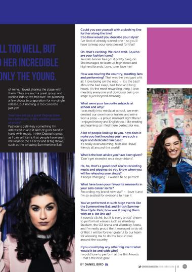 Interview with Parisa for Booked Magazine.
